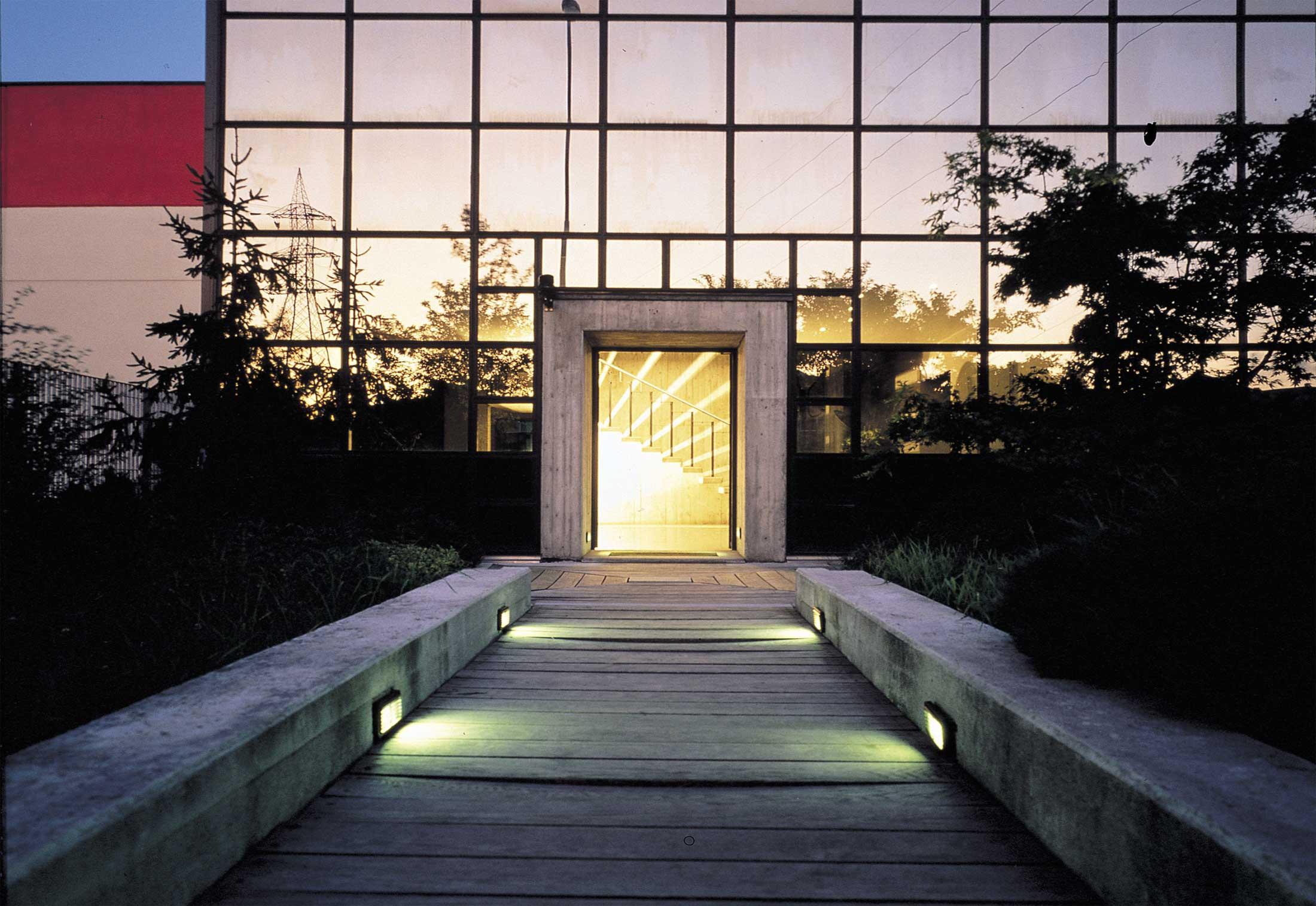 Block Wall Recessed Light By Castaldi Lighting Stylepark