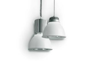minisosia box opal Rail track suspended light  by  Castaldi Lighting
