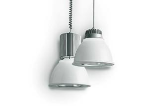 minisosia opal Rail track suspended light  by  Castaldi Lighting