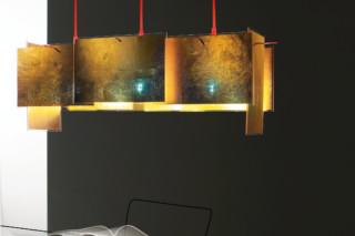 24 Karat Blau M Hanging lamp  by  Ingo Maurer