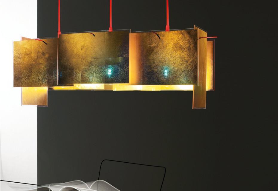 24 Karat Blau M Hanging lamp