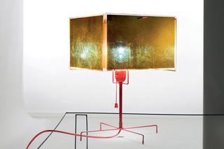 24 Karat Blau T Table lamp  by  Ingo Maurer
