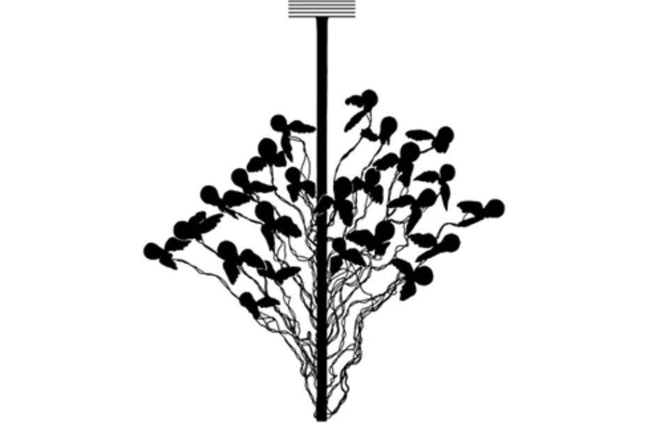 birds birds birds von ingo maurer stylepark. Black Bedroom Furniture Sets. Home Design Ideas