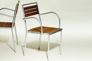 C.D. STACK TERRACE with armrests  by  inno