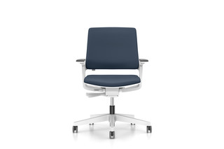MOVYis3 swivel chair with upholstered backrest  by  Interstuhl