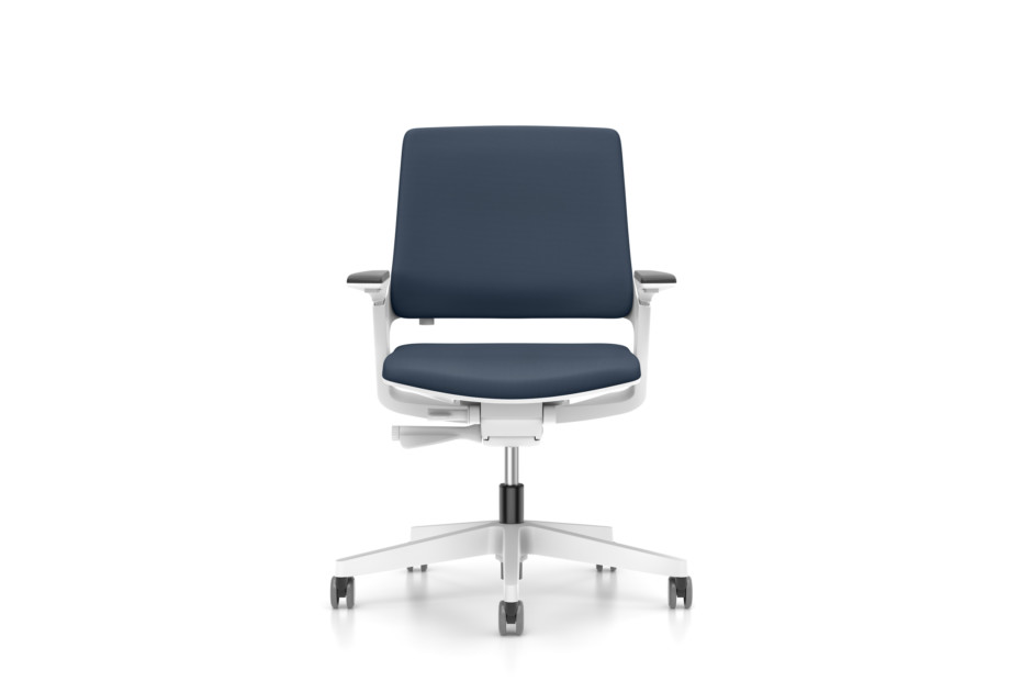 MOVYis3 swivel chair with upholstered backrest