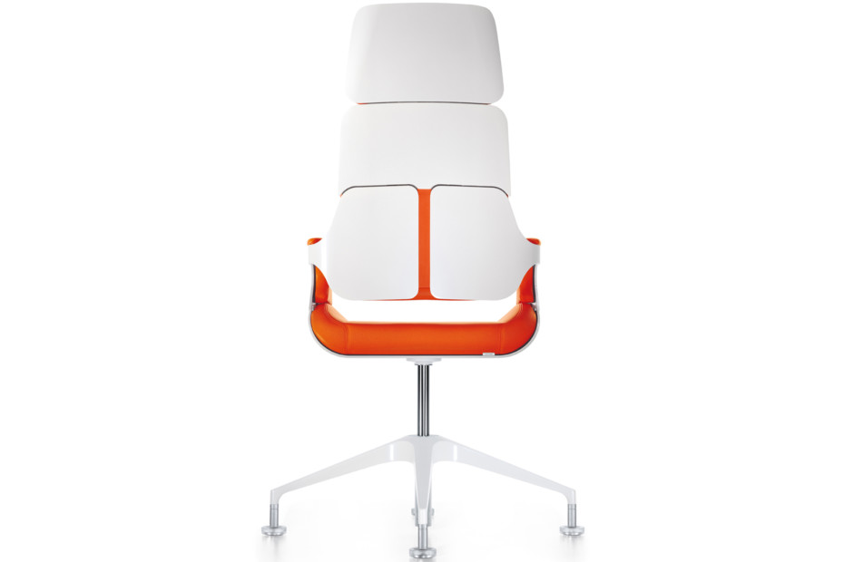 Silver conference armchair