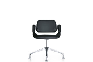 Silver conference chair 101S  by  Interstuhl