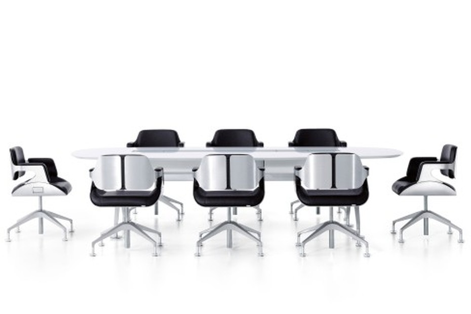 Silver conference chair 101S