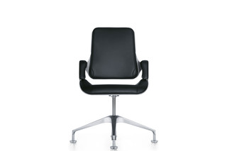 Silver conference chair 151S  by  Interstuhl