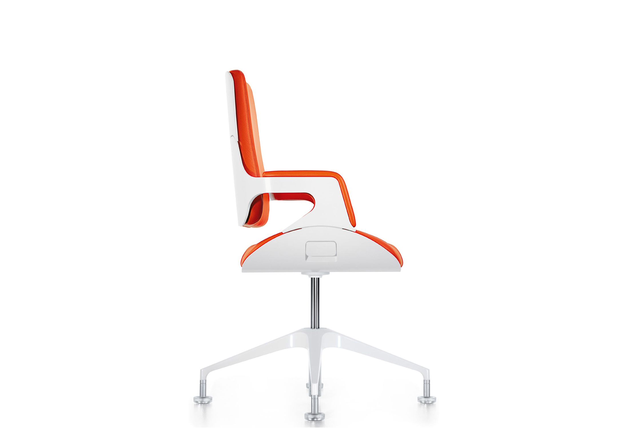 Silver conference chair 151S by Interstuhl | STYLEPARK