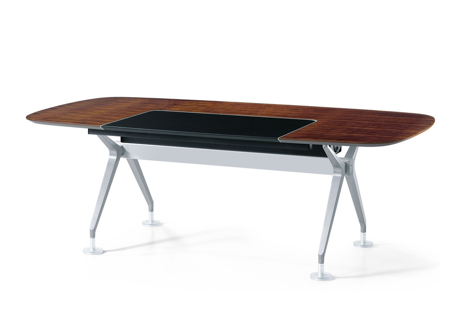 Silver conference table