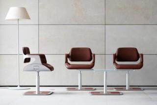 Silver Lounge Sessel  von  Interstuhl