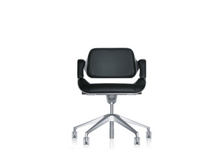 Silver office swivel chair 162S  by  Interstuhl