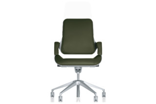 Silver office swivel chair 262S  by  Interstuhl
