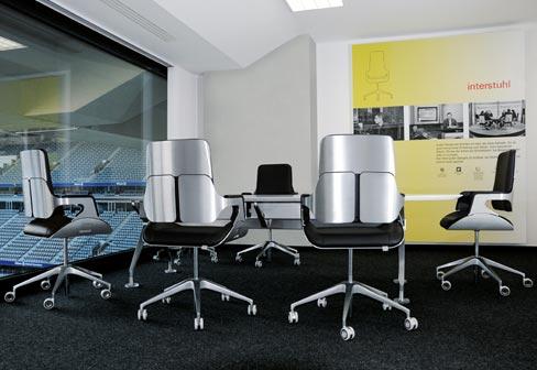 Silver office swivel chair 262s by interstuhl stylepark - Interstuhl jobs ...