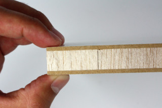 Balsa Endgrain - double-sided coated  by  Isensee-Balsa