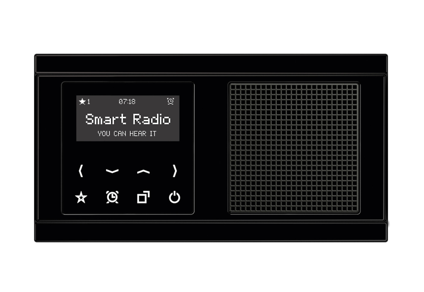 smart radio by jung stylepark. Black Bedroom Furniture Sets. Home Design Ideas