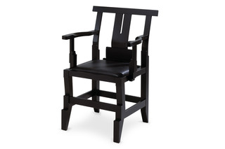 SOLITÄR chair with armrests  by  Källemo