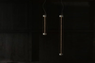 Log suspension lamp  by  KAIA