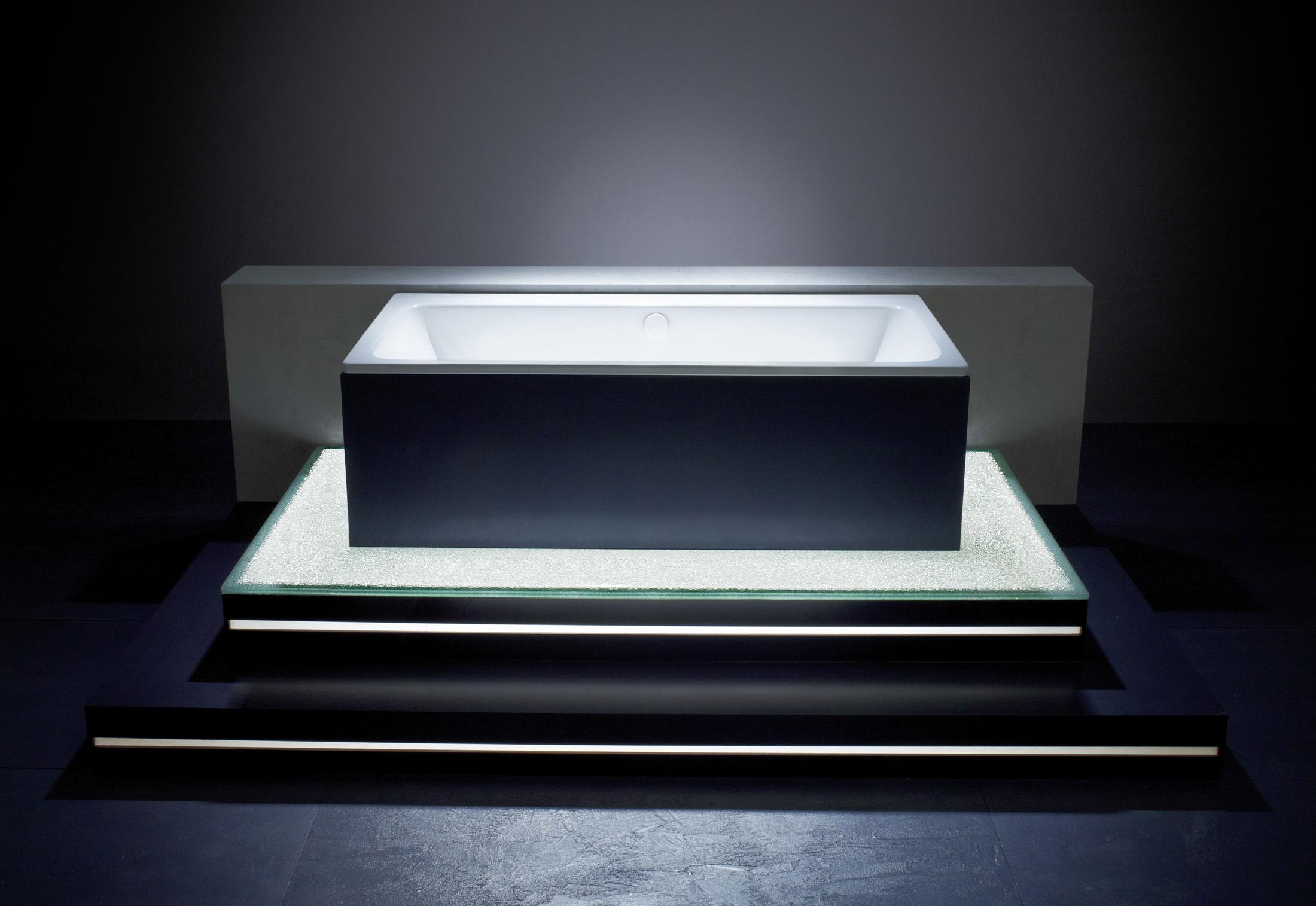 asymmetric duo von kaldewei stylepark. Black Bedroom Furniture Sets. Home Design Ideas