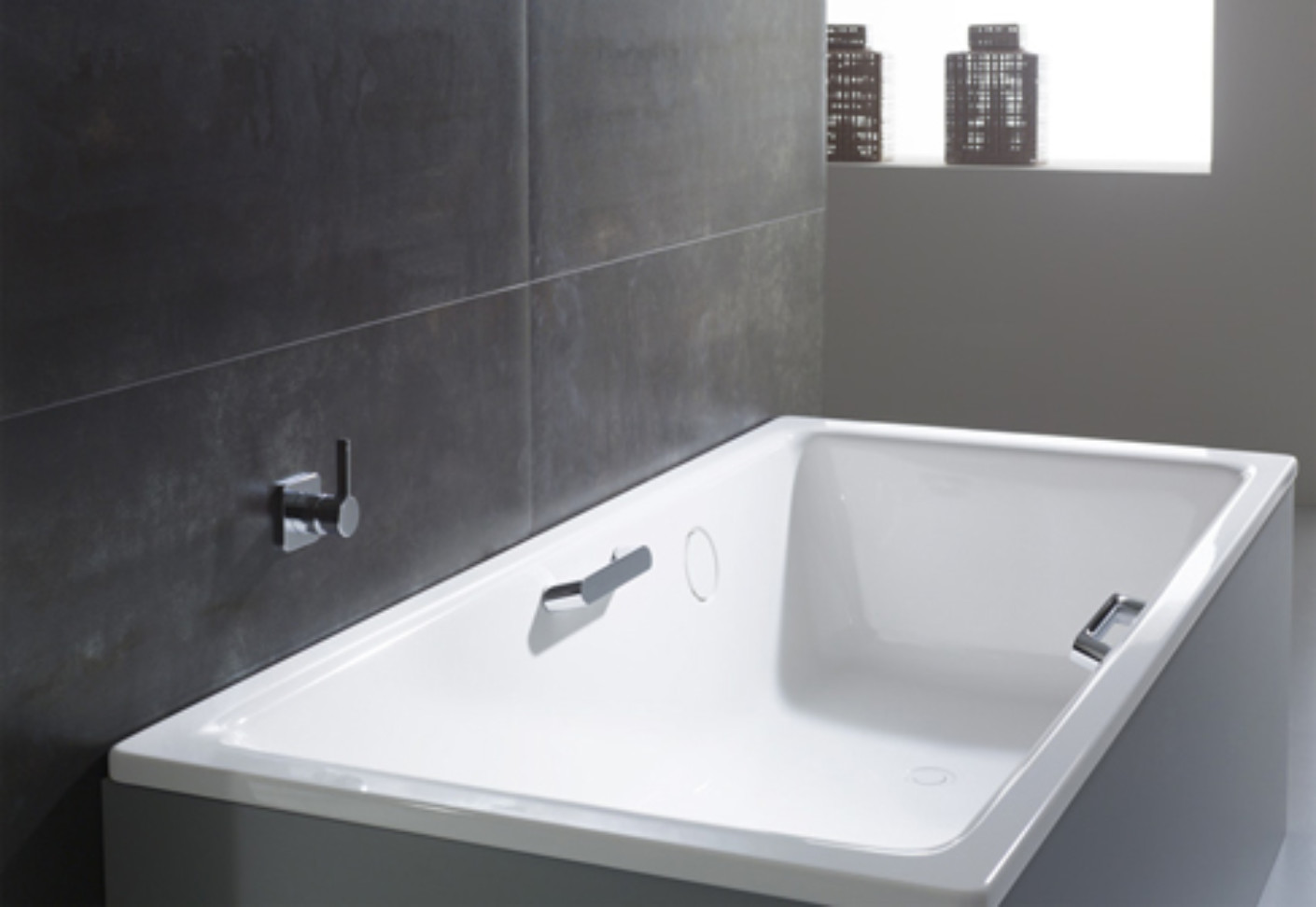 Kaldewei Ambiente bath handle noble purism ambiente by kaldewei stylepark