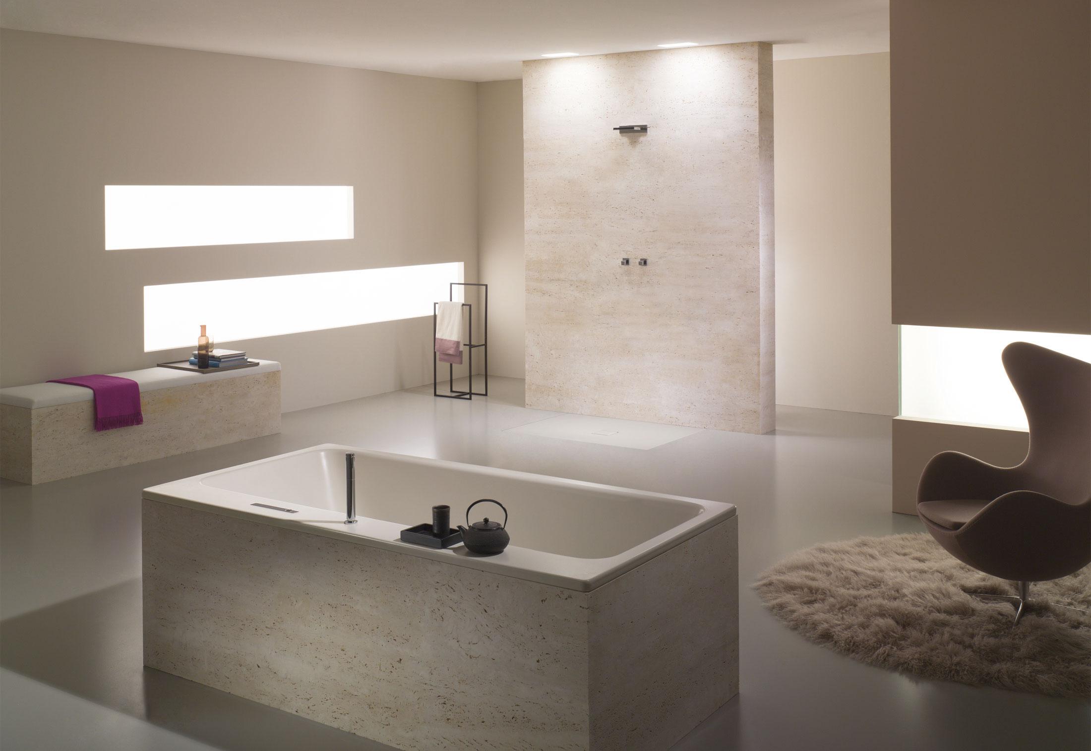 meisterst ck asymmetric duo von kaldewei stylepark. Black Bedroom Furniture Sets. Home Design Ideas