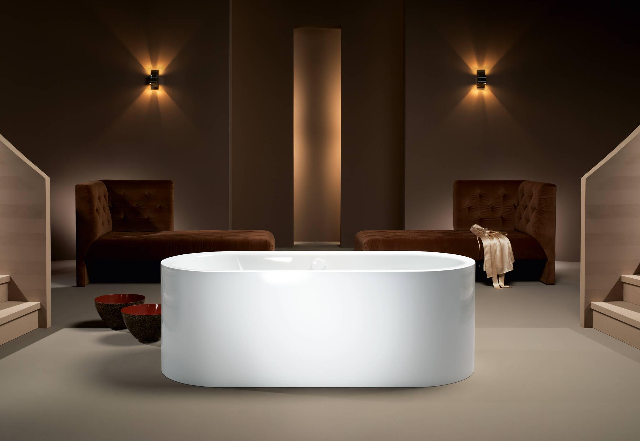 meisterst ck centro duo oval von kaldewei stylepark. Black Bedroom Furniture Sets. Home Design Ideas