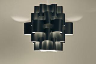 Black Sun Carbon pendant lamp  by  Karboxx