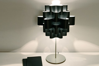 Black Sun Carbon table lamp  by  Karboxx