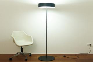 Half Moon floor lamp low  by  Karboxx
