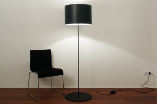 Half Moon floor lamp  by  Karboxx