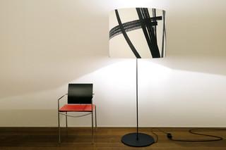 Half Moon Opera floor lamp  by  Karboxx