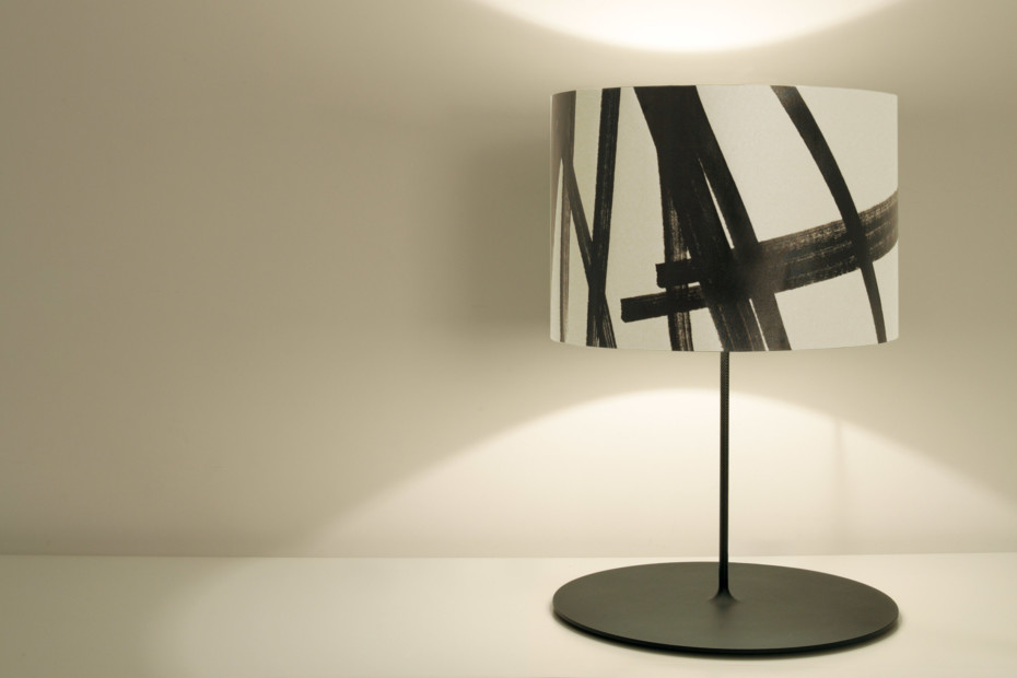Half Moon Opera table lamp