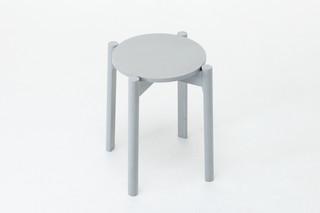 Castor Stool  by  Karimoku New Standard