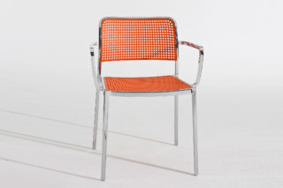 Audrey chair with armrests  by  Kartell