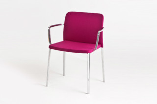Audrey Soft chair with armrests  by  Kartell