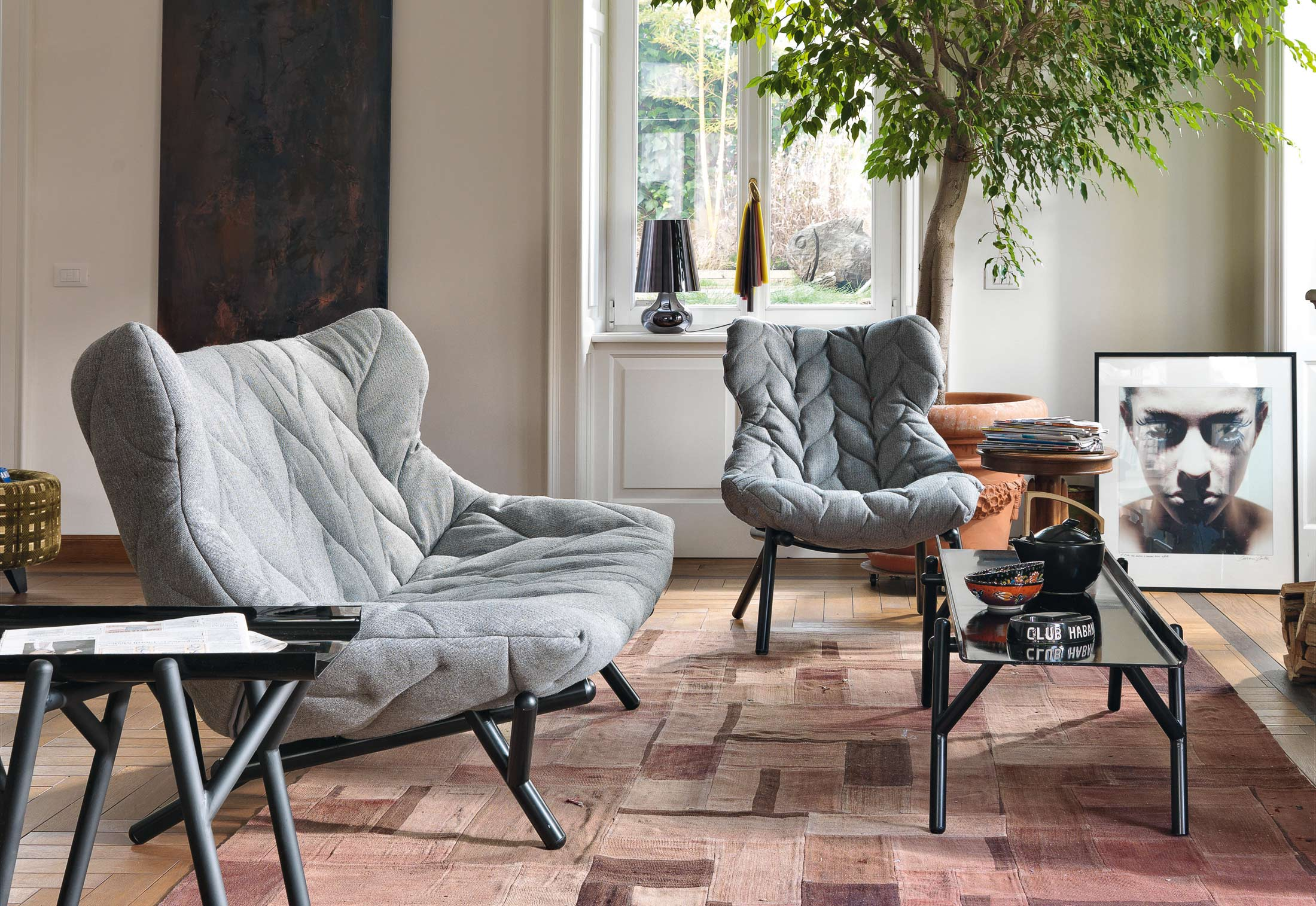 foliage chair by kartell stylepark. Black Bedroom Furniture Sets. Home Design Ideas