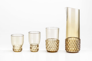 Jelly glass & carafe  by  Kartell