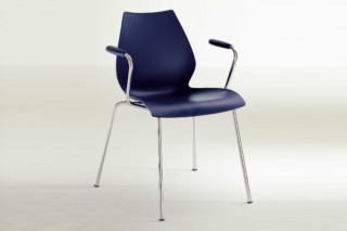 Maui with armrest  by  Kartell