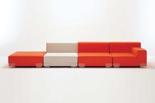 Plastics Sofa  von  Kartell