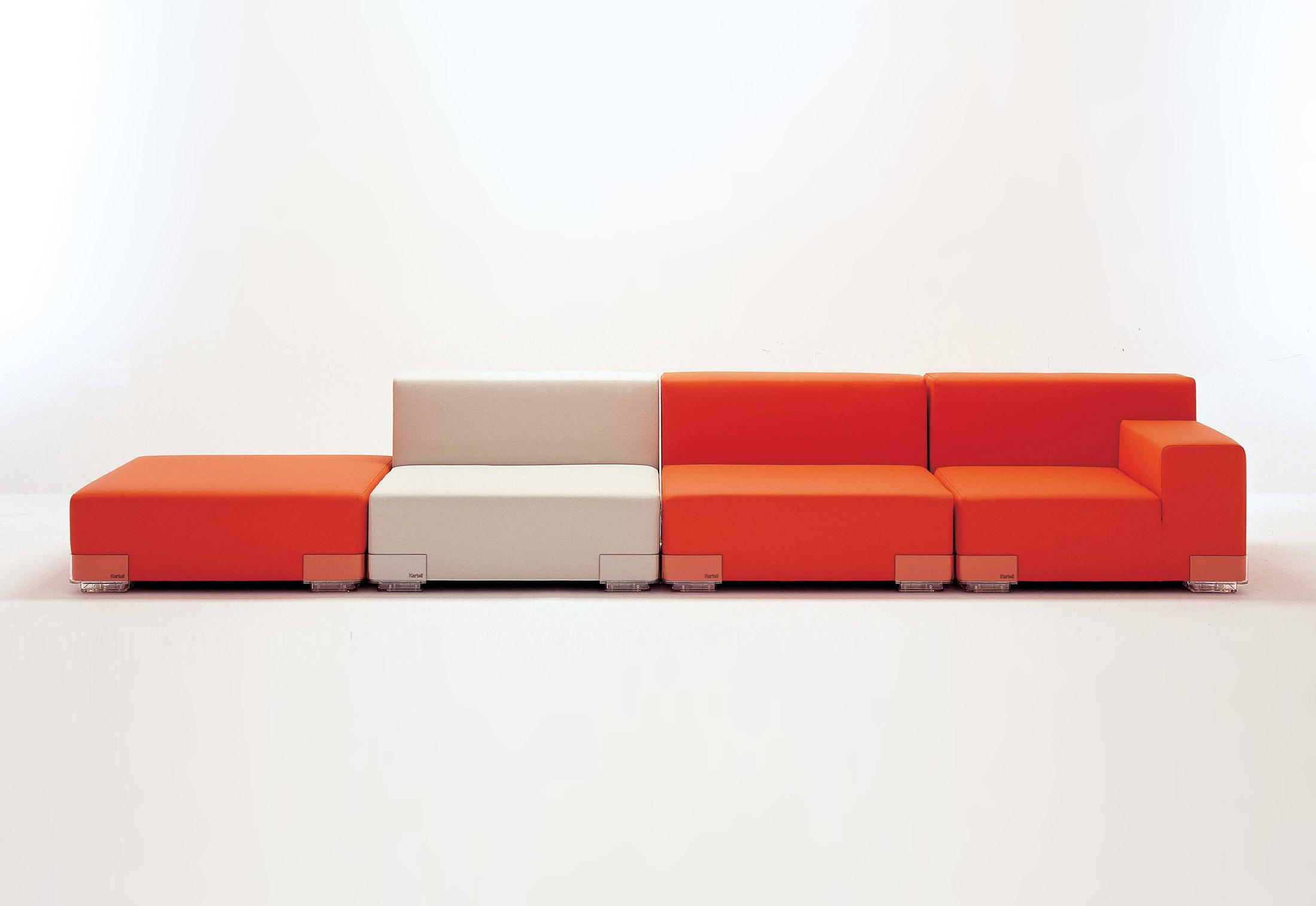 Pleasing Plastics Sofa By Kartell Stylepark Machost Co Dining Chair Design Ideas Machostcouk