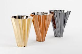 Shanghai Vase Metall  von  Kartell
