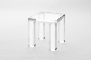The Invisibles Collection - side table  by  Kartell