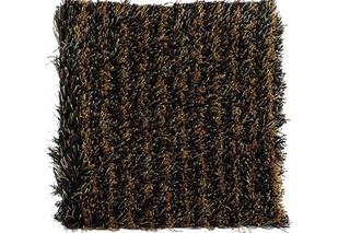 Fogg Stripe black-ochre  by  Kasthall