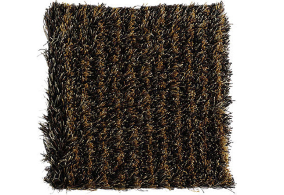 Fogg Stripe black-ochre