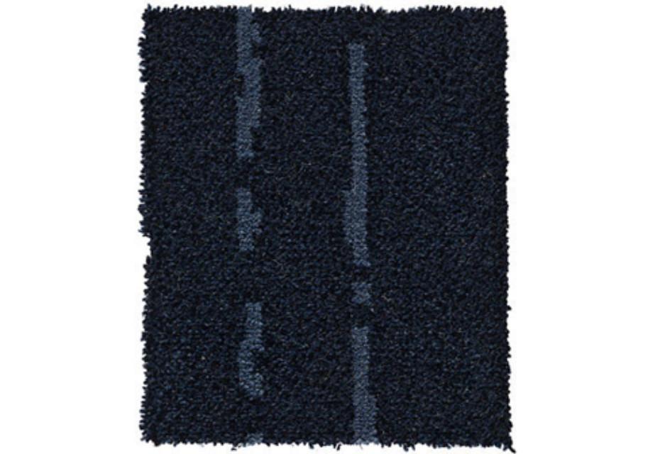 Pinstripe blue-grey