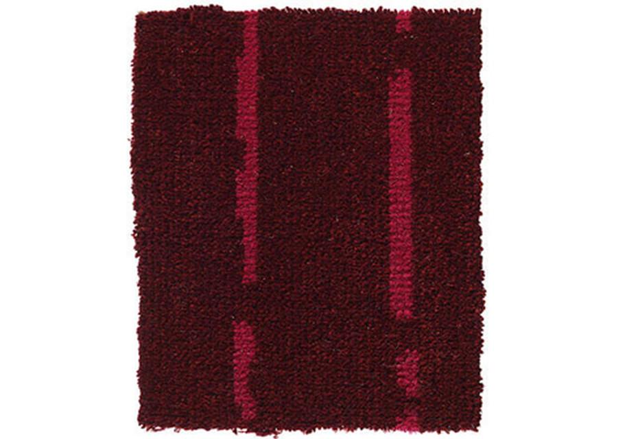Pinstripe burgundy-pink