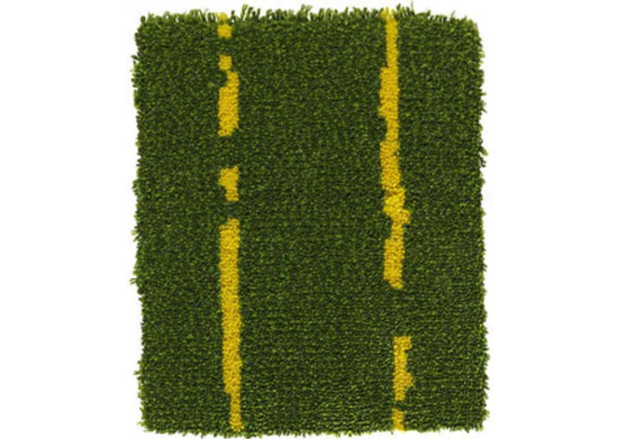 Pinstripe grün-gelb