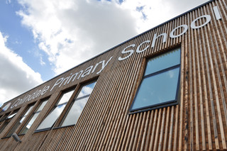 Colindale School  by  Kebony